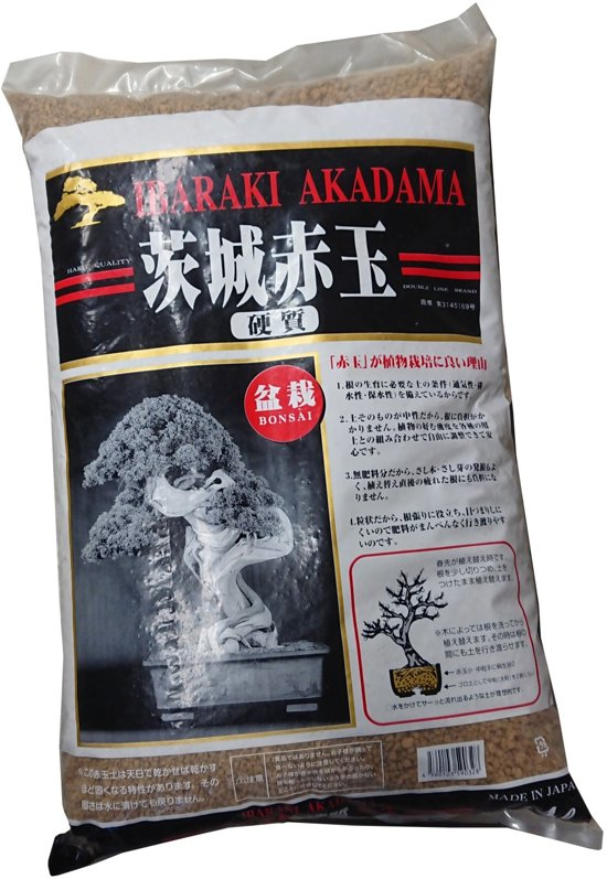 Akadama - bonsaigrond 14 liter