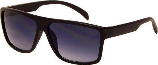 Az-eyewear Zonnebril Unisex Matzwart Met Smoke Lens (az-164)