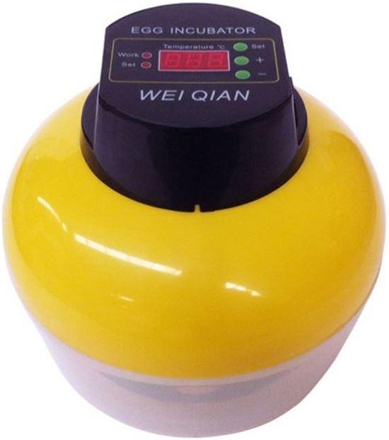 Broedmachine met keersysteem voor 8 eieren WQ8