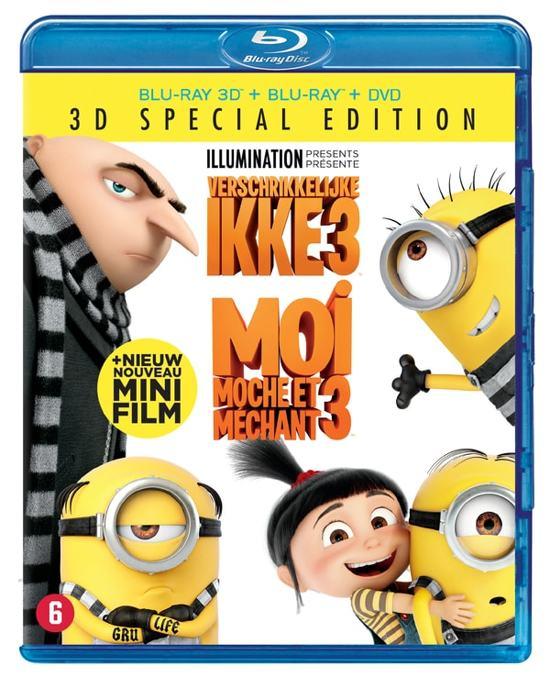 Verschrikkelijke Ikke 3 (Despicable Me 3) (3D Blu-ray)