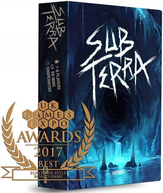 Afbeelding van het spel Sub Terra Survival Bordspel (Engelstalig)