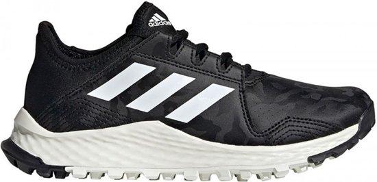 Adidas Hockey Youngstar zwart wit hockeyschoenen kids