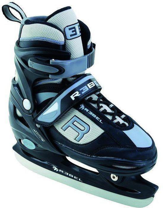 Rebel verstelbare ijshockey schaats, maat: 38-41