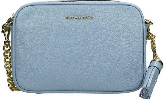 Michael Kors Ginny Camera Bag crossbody tas M pale blue