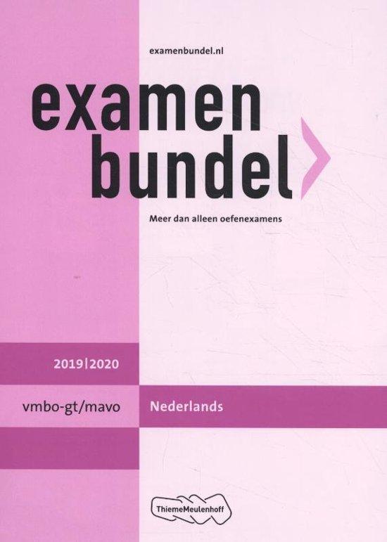 Boek cover Examenbundel vmbo-gt/mavo Nederlands 2019/2020 van M. Reints (Paperback)