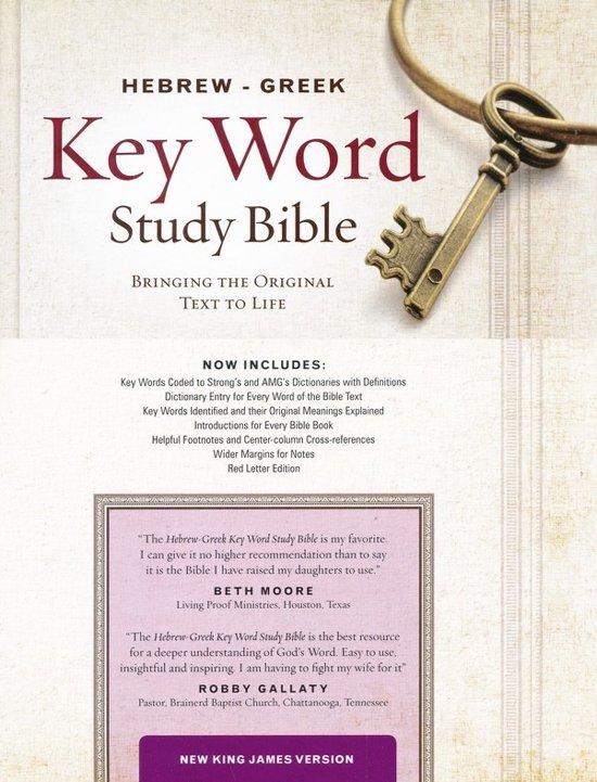 Download PDF NKJV Hebr  Gr  Key Wrd Study Bible HC