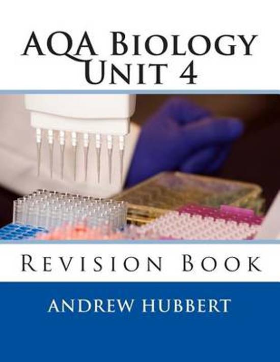 Aqa Biology Unit 4