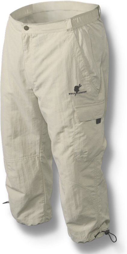 Wolf Dakota Broek Heren Camper Capri Zand 1Or1Apqw
