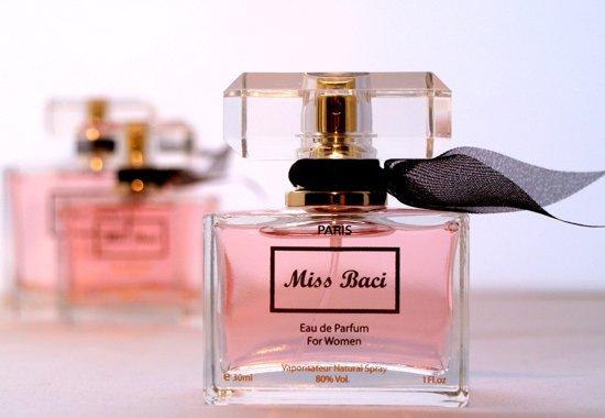Miss Baci Dames parfum (Zeer populair, blijft MINIMAAL 8 uur ruiken)