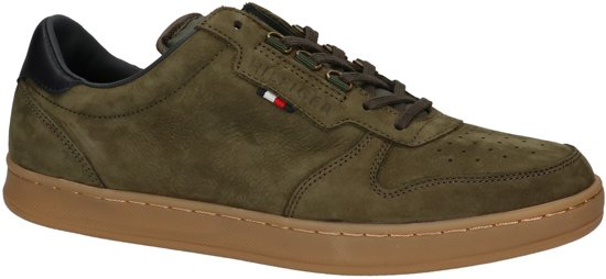 8608f6dacfd Tommy Hilfiger - Hoxton 1n - Casual schoen veter - Heren - Maat 41 - Groen