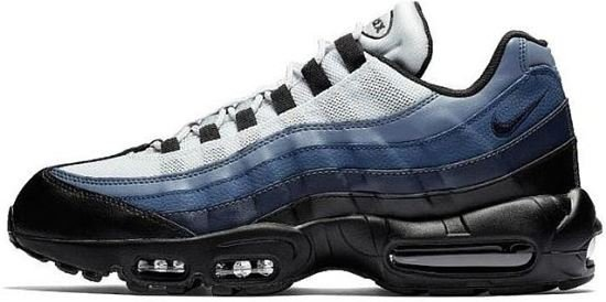 best authentic 50% price buying cheap bol.com | Nike Air Max 95 Essential zwart/blauw maat 45.5