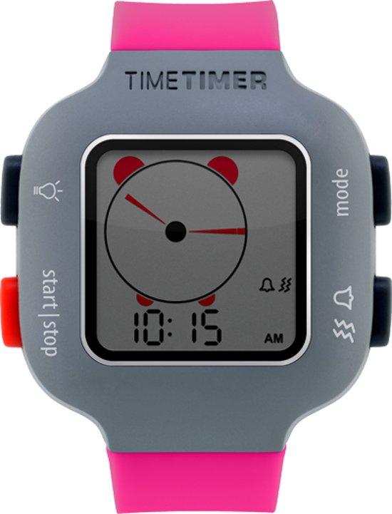 Time Timer Watch Plus - Kindermaat fuchsia