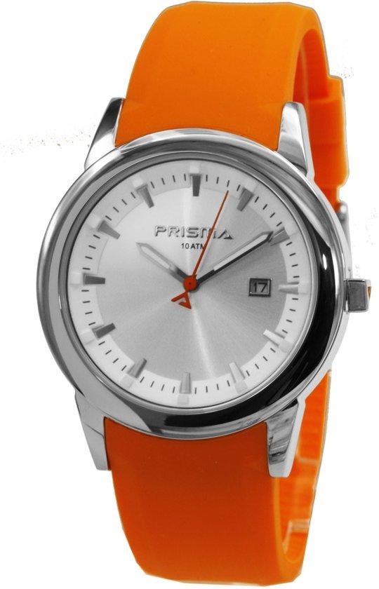 Prisma Herenhorloge P.2637 Plastic/silicone Zilver