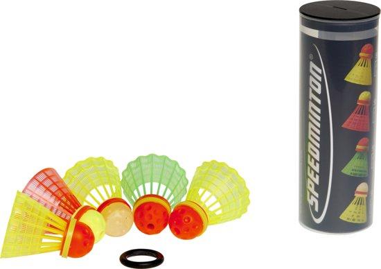 Speedminton Speedertube Mixset 5 stuks - speedbadminton