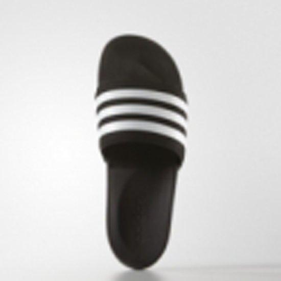 Adidas Adilette wit Slippers Unisex zwart ZrdqZw0