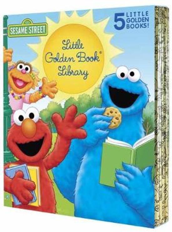 Boek cover Sesame Street Little Golden Book Library van Sarah Albee (Hardcover)