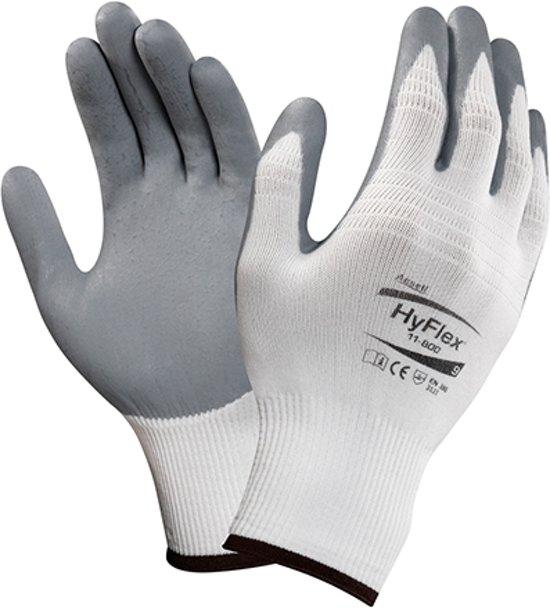Montage Handschoenen Wit/Grijs