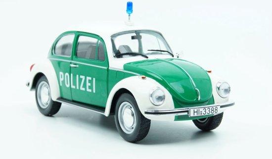 Solido Volkswagen Kever 1303 Polizei Groen 1 18
