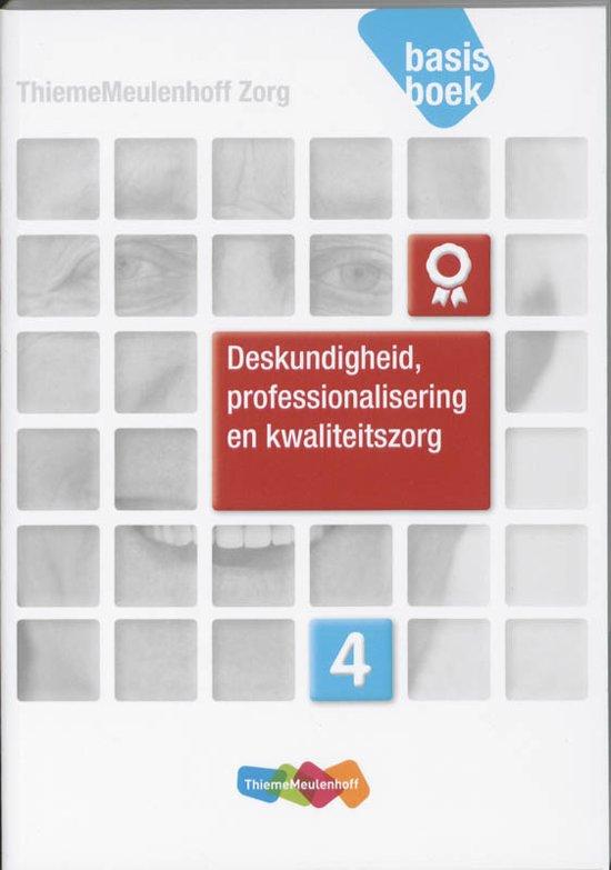 Afbeelding van Deskundigheid, professionalisering en kwaliteitszorg Niveau 4 Basisboek