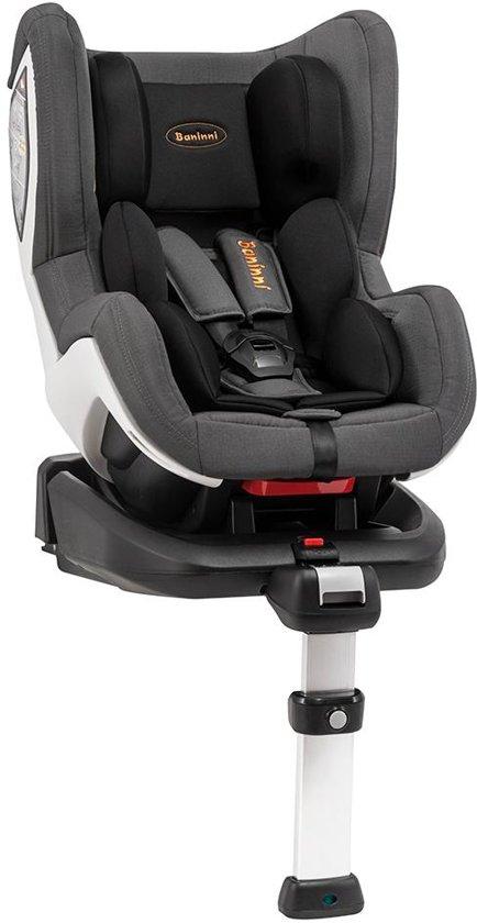 Autostoel Baninni Impero Isofix Black-Grey (0-18kg)