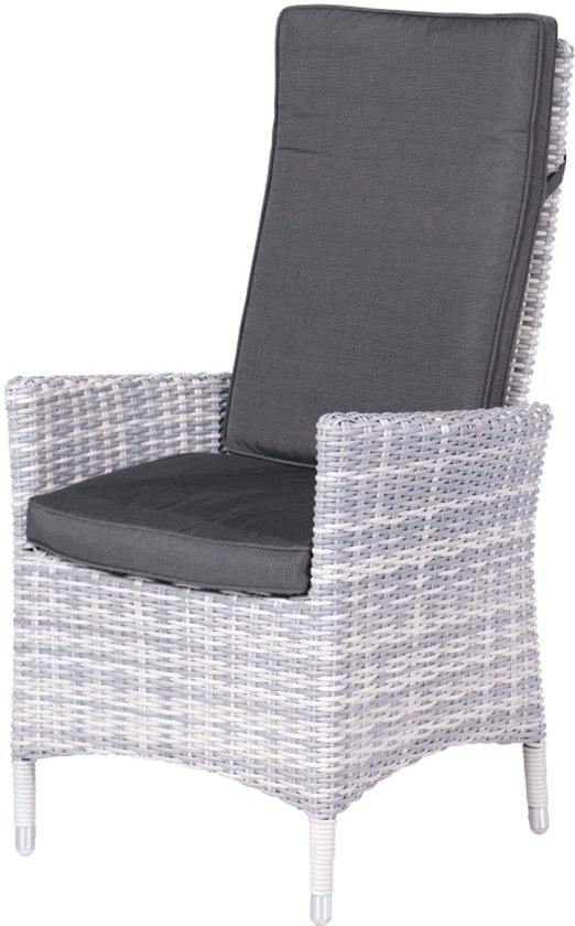 Garden Impressions - Cuba verstelbare fauteuil - cloudy grey