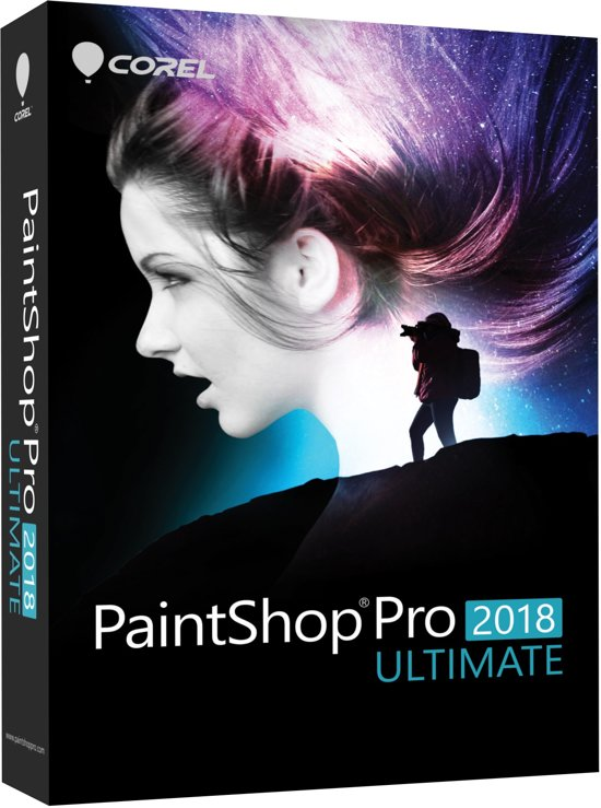 Corel PaintShop Pro Ultimate 2018 - Nederlands / Engels / Frans - Windows
