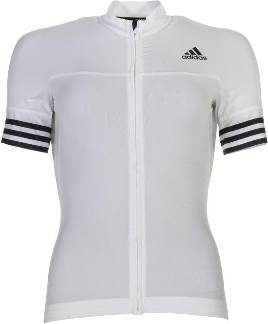 adidas Adistar SS  Fietsshirt - Maat S  - Vrouwen - wir/zwart