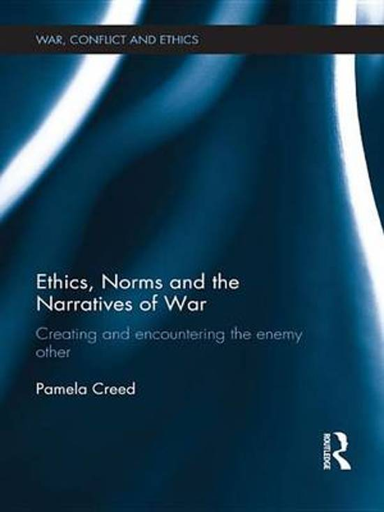Ethics, Norms and the Narratives of War