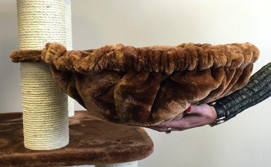 Krabpaal Brown Panther voor grote of zware katten.
