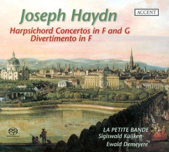 Harpsichord Concertos Hob.Xviii:3 & 4/Divertimento