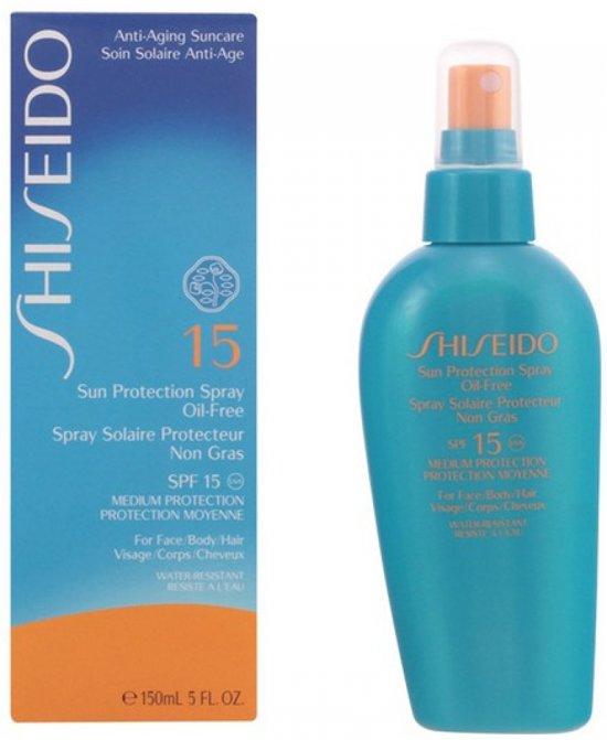 Shiseido Sun Protection Spray Oil-Free Zonnebrand Lotion - 150 ml