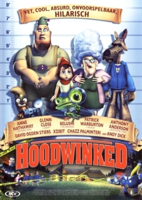 Cover van de film 'Hoodwinked'
