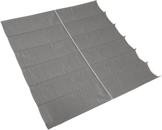 Nesling - Schaduwdoek Harmonica - 2 x 3 - Grey