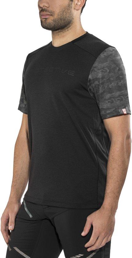 Protective Rawson Fietsshirt Korte Mouwen Heren, black Maat S