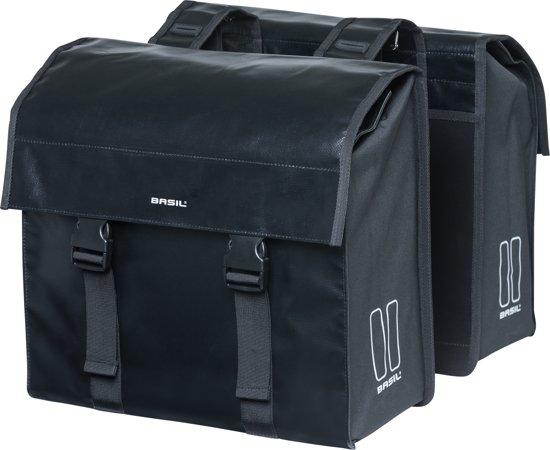 BASIL Urban Load Dubbele Fietstas - 48 Liter - Zwart