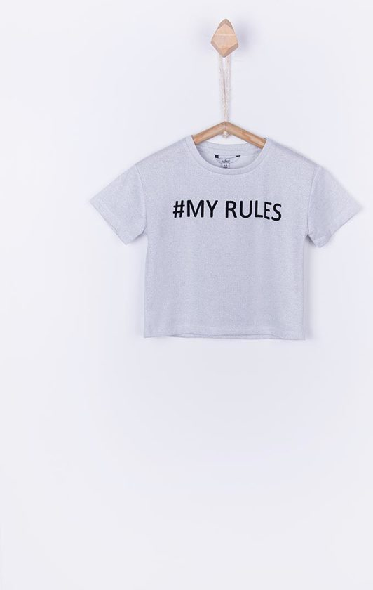 Tiffosi zilver shirt #MY RULES