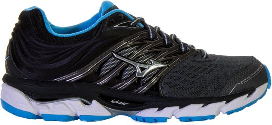 e1c7e69aa39 Mizuno Wave Paradox 5 hardloopschoen dames Sportschoenen - Maat 40.5 -  Vrouwen - grijs blauw