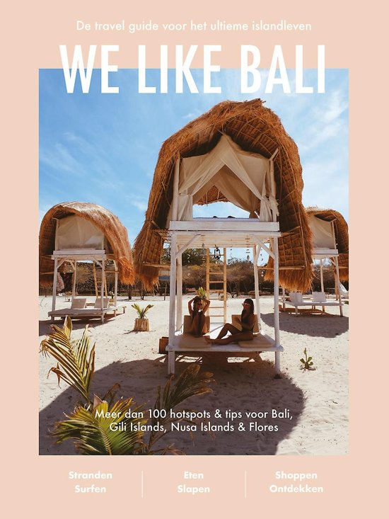 Boekomslag voor We like Bali