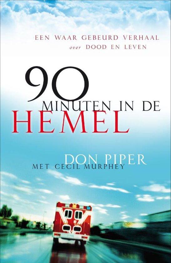 Boek cover 90 Minuten in de hemel van D. Piper (Paperback)