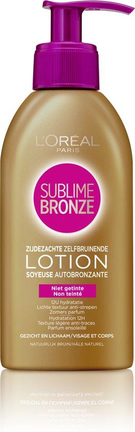 L'Oréal Paris Sublime Bronze Zelfbruinende Crème - 150 ml