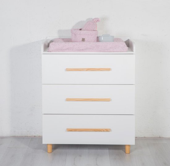 Commode Baby Kamer.Cabino Babykamer Stockholm Commode Wit