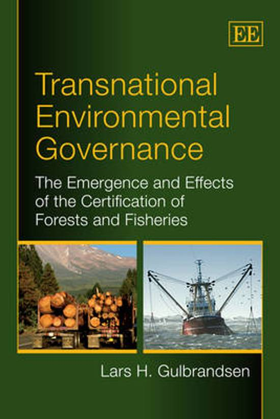 Transnational Environmental Governance