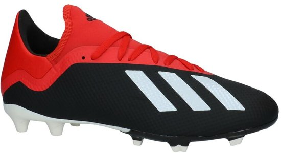 fc1e623bb53 adidas - X 18.3 Fg - Voetbalschoenen - Heren - Maat 46 - Zwart;Zwarte