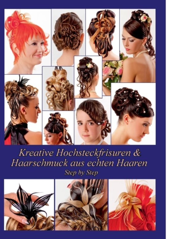 Bolcom Kreative Hochsteckfrisuren Haarschmuck Aus Echten Haaren