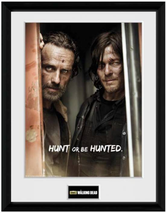 Bolcom The Walking Dead Collector Print 30x40 Rick And Daryl