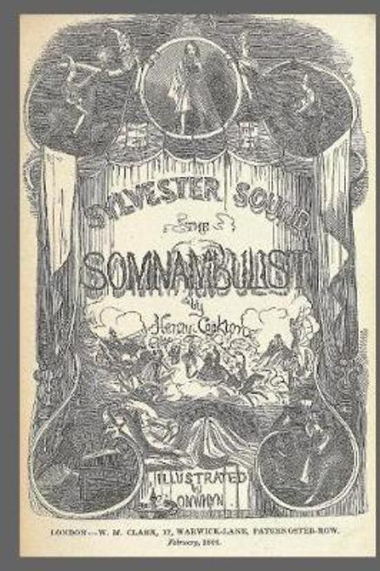 Journal Vintage Penny Dreadful Book Cover Reproduction Somanbulist