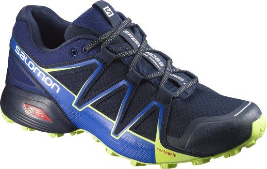 Salomon Speedcross Vario 2 Sportschoenen Heren - Navy Blazer/ Nautical Blue / Lime Punch