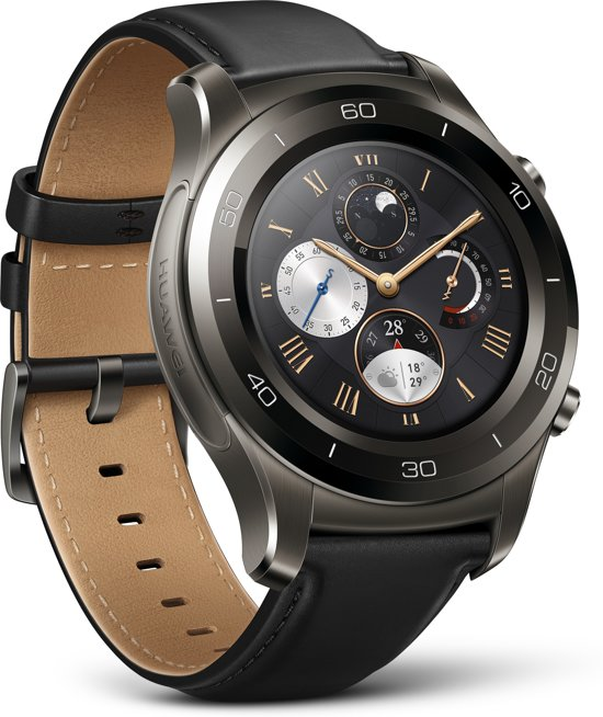 Huawei Watch 2 Classic Smartwatch - Grijs