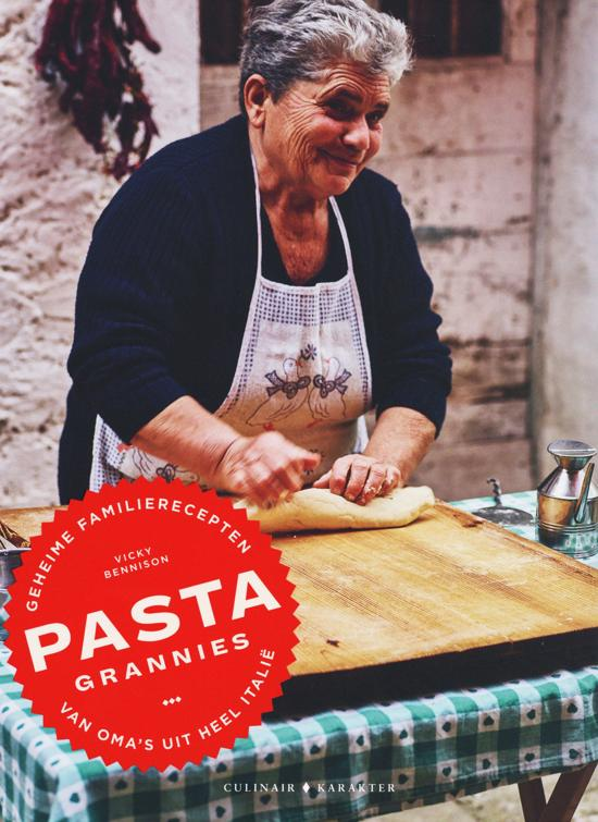 Boek cover Pasta grannies van Vicky Bennison (Hardcover)