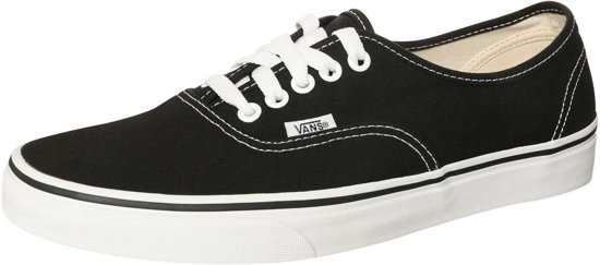 Vans  AUTHENTIC Black VEE3BLK-Sneakers - Maat  42